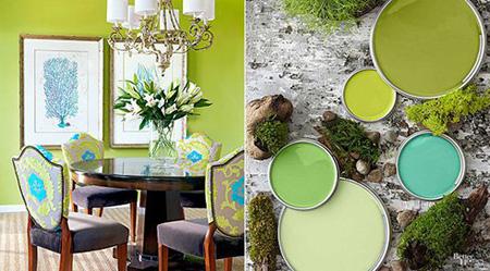 ترکیب رنگ ها برای اتاق نشیمن,ترکیب رنگ های تابستانی برای اتاق نشیمن