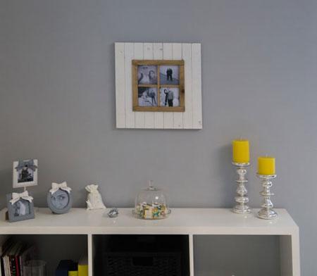 طراحی داخلی خانه های کوچک,تزیین خانه به رنگ زرد و خاکستری