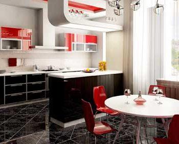 ایده هایی برای چیدن یک آشپزخانه رنگی و زیبا