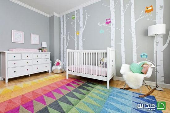 طراحی اتاق نوزاد؛ رازهای دکوراسیونی که نمی دانید!