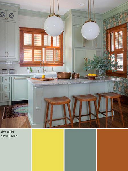 دکوراسیون خانه با رنگ های پاییزی, دکوراسیون و چیدمان خانه به رنگ های پاییزی