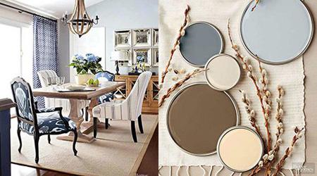 رنگ های زیبا برای اتاق نشیمن, چیدمان رنگی اتاق نشیمن