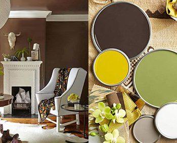 بهترین ترکیب رنگی برای یک اتاق نشیمن تابستانی