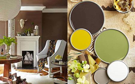دکوراسیون اتاق نشیمن,رنگ های زیبا برای اتاق نشیمن