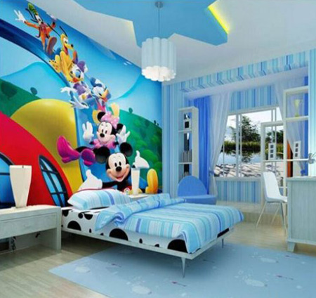 انتخاب رنگ اتاق دخترها, بهترین رنگ اتاق کودکان