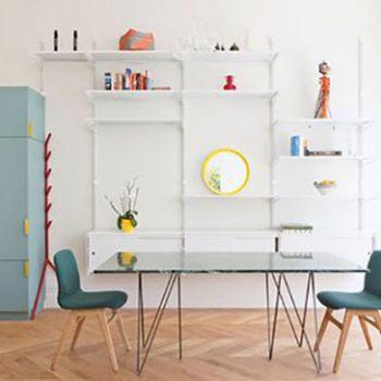 آپارتمانی به سبک ویکتوریایی با رنگ های دلنشین