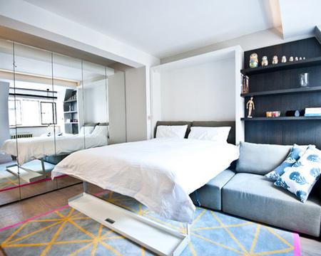 دکوراسیون خانه های کوچک, دکوراسیون فضای اتاق خواب