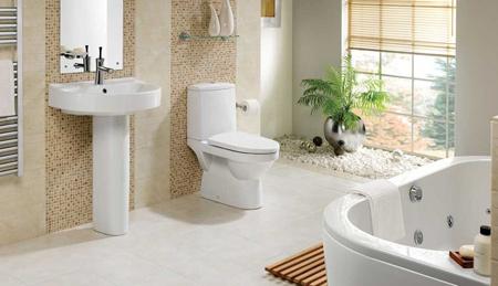 دکوراسیون حمام و دستشویی,عناصر اصلی دکوراسیون سرویس بهداشتی