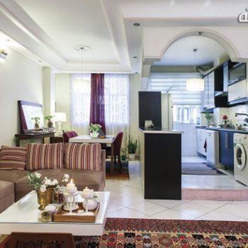 دکوراسیون آپارتمانِ اجارهای در غرب تهران