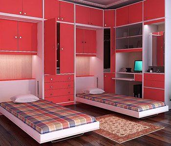 چگونه فضا اتاق خواب را بزرگ کنیم؟