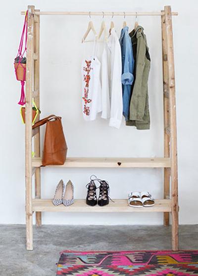 قفسه هایی برای کیف و کفش,نحوه چیدمان کمد لباسی