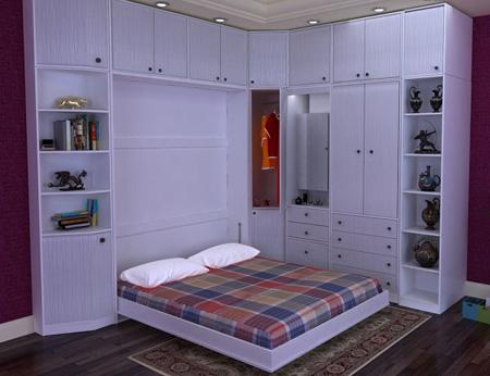 دکوراسیون اتاق خواب سفید,چیدمان اتاق خواب کوچک
