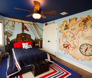 خلاقانه ترین دکوراسیون اتاق خواب های کودک
