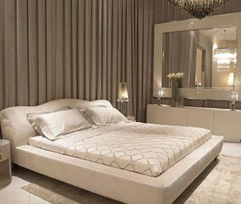 نکاتی برای قرار دادن تخت خواب در اتاق خواب