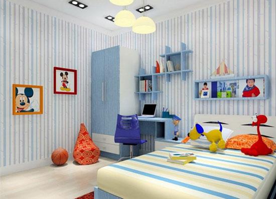 دکوراسیون اتاق بچه ها با انواع طراحی دخترانه و پسرانه