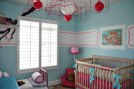 دکوراسیون و چیدمان اتاق پسر, مدل چیدمان اتاق نوزاد پسر