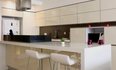 نکاتی برای تزیین یخچال,تزیین فضای آشپزخانه