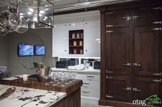 دکوراسیون آشپزخانه مدرن ۲۰۱۷