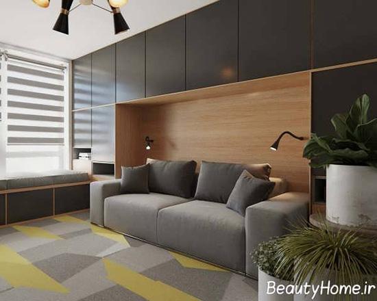 20 تصویر متفاوت از نمای داخلی آپارتمان مدرن و کوچک