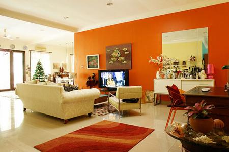 اصول چیدمان خانه به رنگ نارنجی,دکوراسیون و چیدمان خانه به رنگ نارنجی