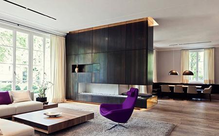 طراحی داخلی رنگ بنفش, راهنمای انتخاب رنگ بنفش