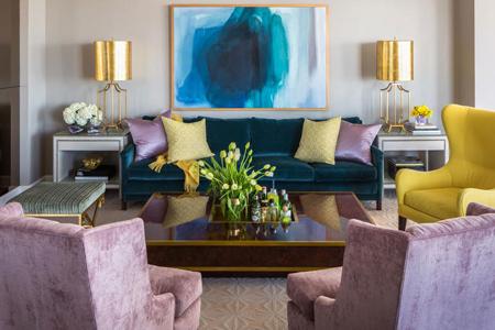 انتخاب رنگ در طراحی داخلی خانه, راهنمای انتخاب رنگ در چیدمان خانه