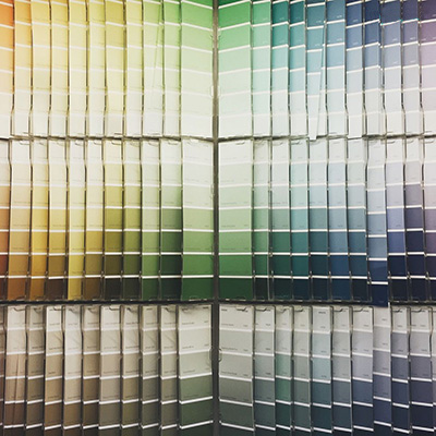 انتخاب رنگ برای فضاهای کوچک,نکاتی برای انتخاب رنگ