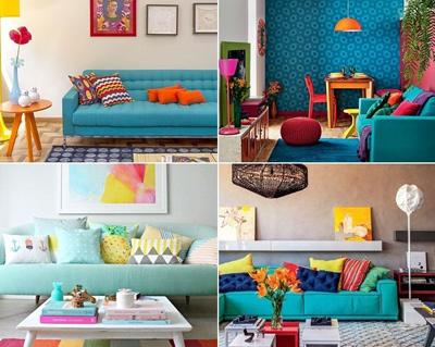 دکوراسیون رنگی, راهکارهای دکوراسیون رنگی