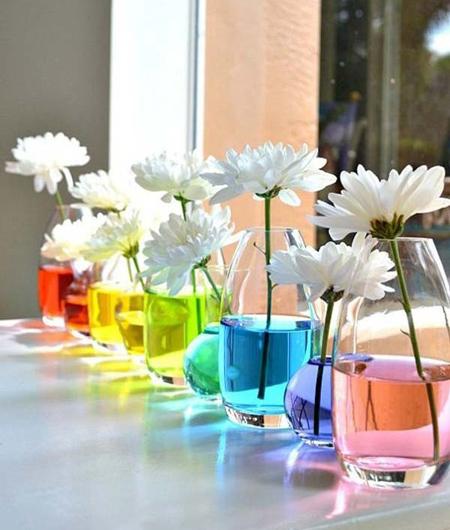 رنگ های دکوراسیون,افزودن رنگ به دکوراسیون