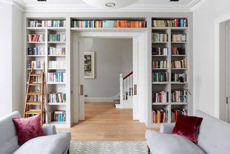 طراحی دکوراسیون,محل نگهداری کتاب ها