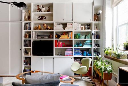 دکوراسیون اتاق با کتاب,مهارت های چیدمان اتاق با کتاب