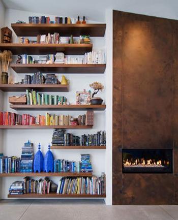 مهارت های چیدمان اتاق با کتاب,روش های چیدمان کتاب