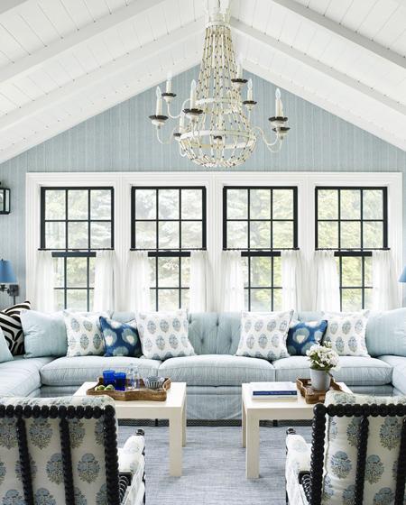 رنگ های مناسب دکوراسیون خانه,تاثیر آرامش بخش رنگ ها