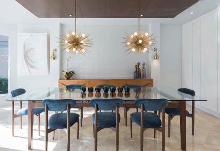 نکاتی برای نورپردازی اتاق غذاخوری,روش های نورپردازی اتاق غذاخوری