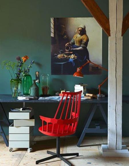 رنگ های ترکیبی برای دکوراسیون, دکوراسیون و چیدمان رنگی خانه
