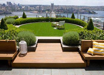 نکاتی برای ساخت انواع بام باغ یا روف گاردن