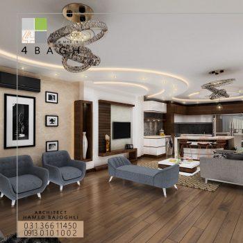 طراحی داخلی مسکونی (۱۴)