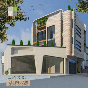 طراحی نمای ساختمان (۱۰)