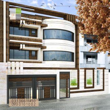 طراحی نمای ساختمان (۷)