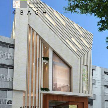 طراحی نمای ساختمان (۸)